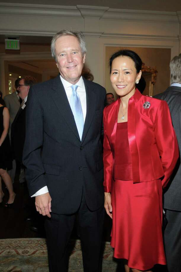 James Fallows and Y. Ping Sun Photo: Daniel Ortiz
