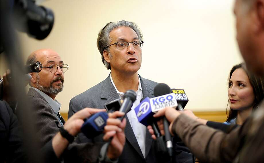 Supervisors should oust Ross Mirkarimi. Photo: Noah Berger, Special To The Chronicle