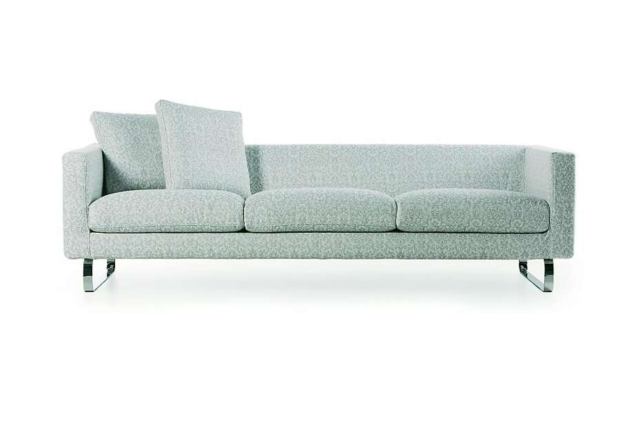Like its smaller single- and dual-seat versions, the Silver Sofa's triple-seat piece has 20 cover varieties that include different fabrics, colors and textures for the seat cushions, back cushions and sofa body. Photo: Propeller Modern