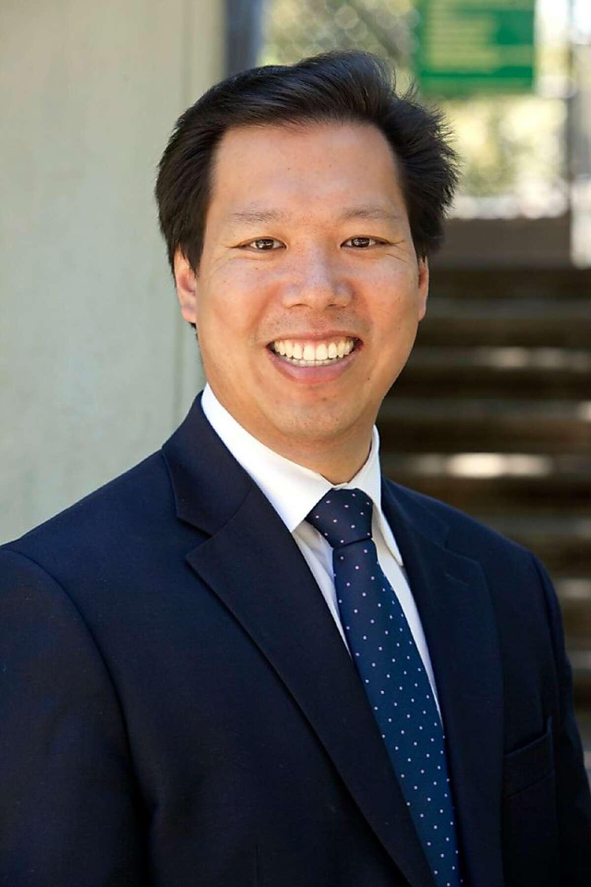 David Lee, candidate for District 1 supervisor, San Francisco 2012