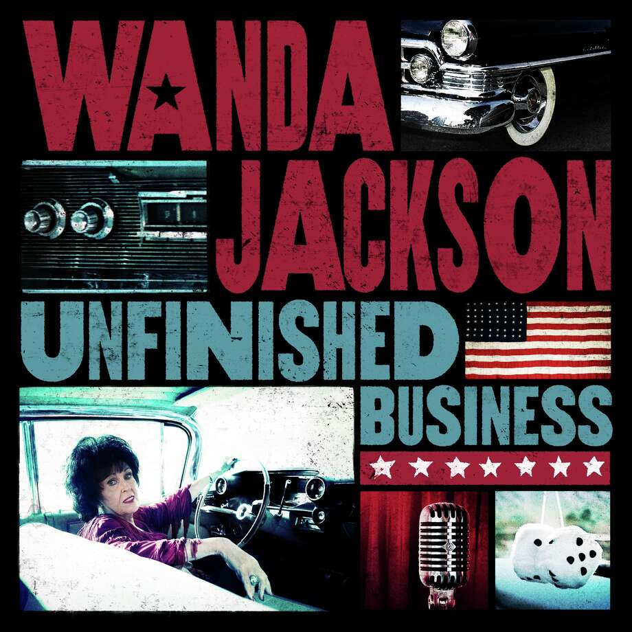 "Cover art for ""Unfinished Business"" from Wanda Jackson. Photo: Cover Art"