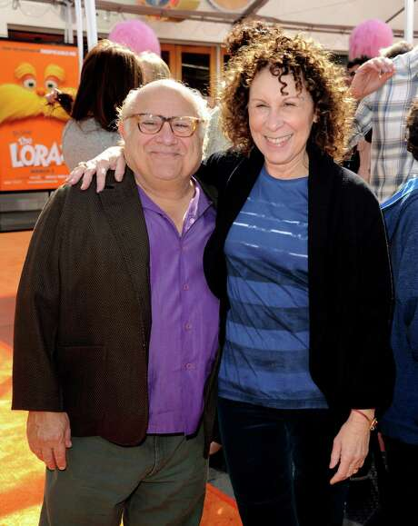 "FILE - 8 OCTOBER 2012: Actors Danny DeVito and Rhea Perlman after 30 years of marriage are separating. UNIVERSAL CITY, CA - FEBRUARY 19:  Actors Danny DeVito (L) and Rhea Perlman arrive at the premiere of Universal Pictures and Illumination Entertainment's 3D-CG ""Dr. Seuss' The Lorax"" at Citywalk on February 19, 2012 in Universal City, California. Photo: Kevin Winter, Getty Images / 2012 Getty Images"