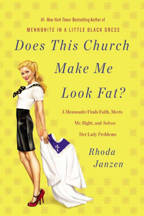 "For a book about breast cancer, religious doubt and a middle-aged romance with a man so unlike her that his son says they seem like they're from ""different planets,"" Rhoda Janzen's ""Does This Church Make Me Look Fat?"" is amazingly light-hearted."