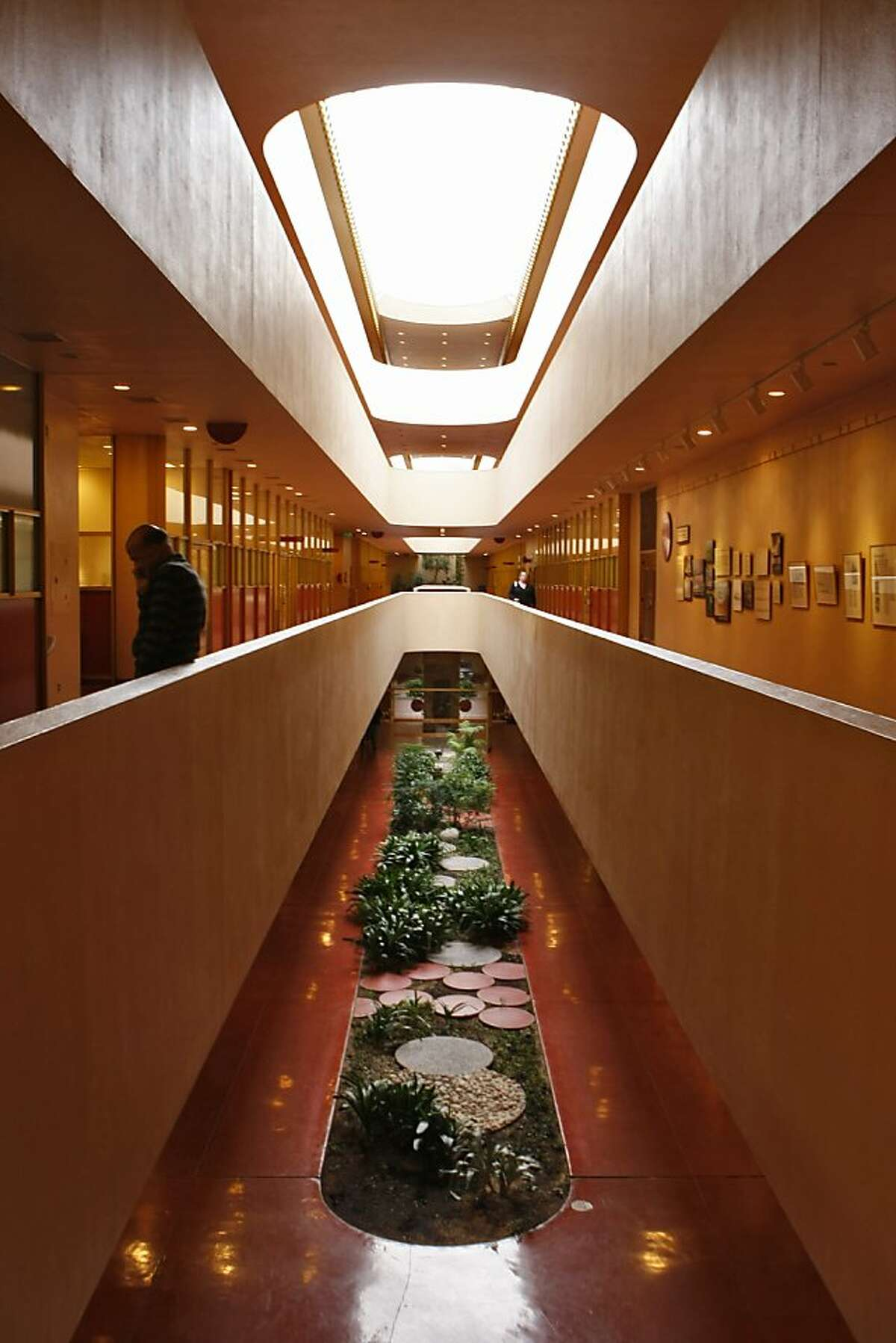 The Marin County Civic Center, designed by Frank Lloyd Wright not long before his death at 91, is 50 years old.