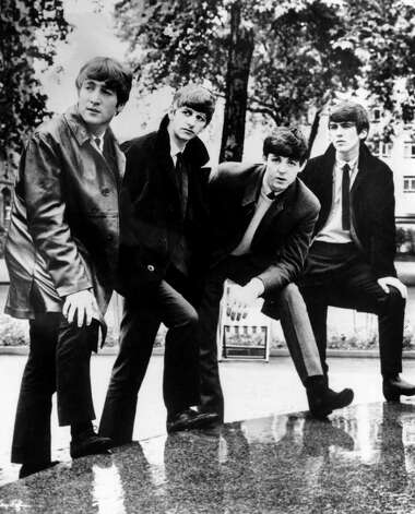 In this undated file photograph British pop band The Beatles pose for a photograph. Photo: ASSOCIATED PRESS / Associated Press file photo