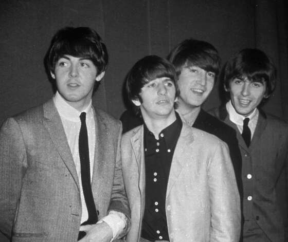 The Beatles, from left, Paul McCartney, Ringo Starr, John Lennon and George Harrison, are shown in this November 1963 photo. Photo: Anonymous, ASSOCIATED PRESS / Associated Press 1963 file photo