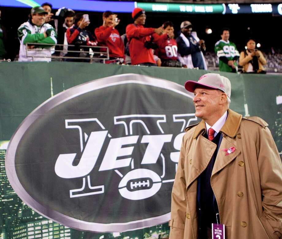 Houston Texans owner Bob McNair walks on the sidelines before the Texans' Monday Night Football game against the New York Jets at MetLife Stadium on Monday, Oct. 8, 2012, in East Rutherford. Photo: Brett Coomer, Houston Chronicle / © 2012  Houston Chronicle
