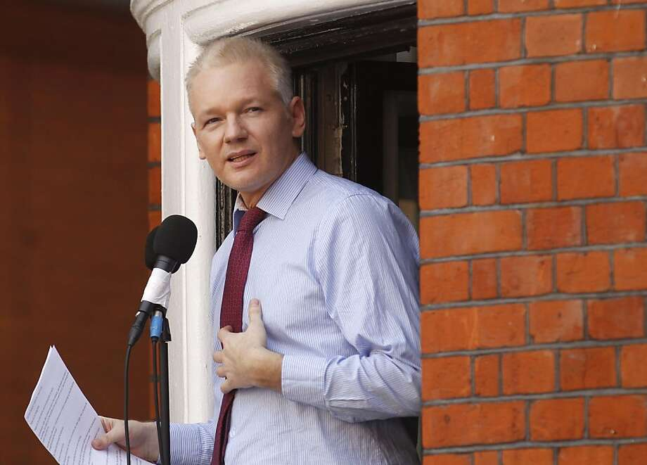Julian Assange published thousands of U.S. documents. Photo: Sang Tan, Associated Press