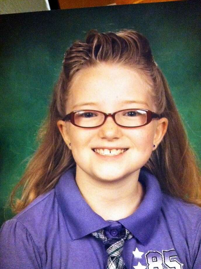 This image provided by the Westminster Colorado Police Department shows 10-year-old Jessica Ridgeway. Police in Westminster are looking for a 10-year-old girl who was last seen walking to school. Jessica Ridgeway normally meets a friend at a park on her way to Witt Elementary School, but she didn't make it to the park or school Friday Oct. 5, 2012. An Amber Alert has been issued. (AP Photo/Westminster Colorado Police Department) Photo: Associated Press