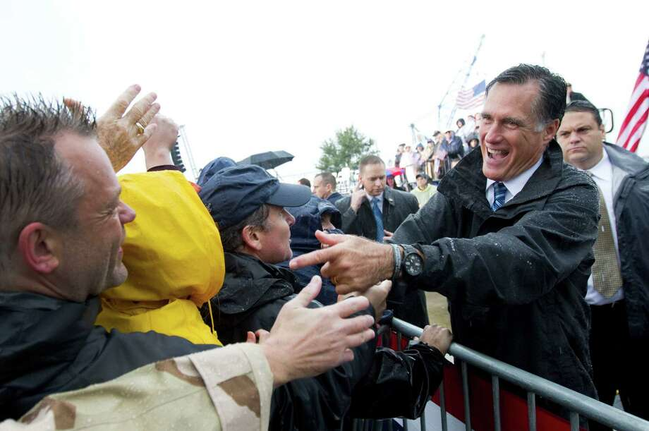 After his successful debate, Republican presidential nominee Mitt Romney is highlighting his  moderate side, and there's nothing wrong with that.  Photo: Sangjib Min, Newport News Daily / Newport News Daily Press