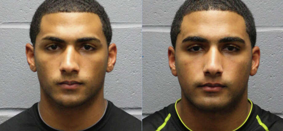 Shawn Butler, left, and his brother, Dashawn, had to post on the Internet that their Huffman party had been canceled, authorities said. (Harris County Sheriff's Office photo)
