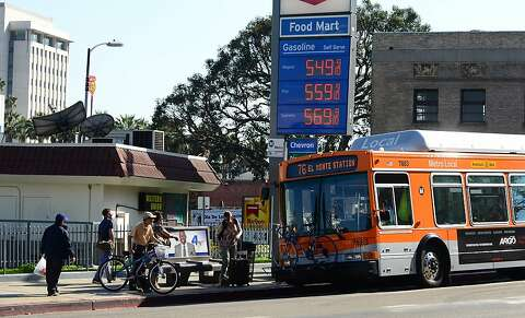 Gasoline price spike may be slowing down - SFGate