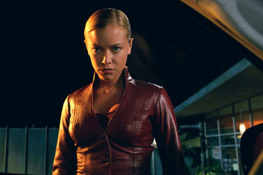 And once again the Arnold Terminator faced a more-advanced version, played by Kristanna Loken.
