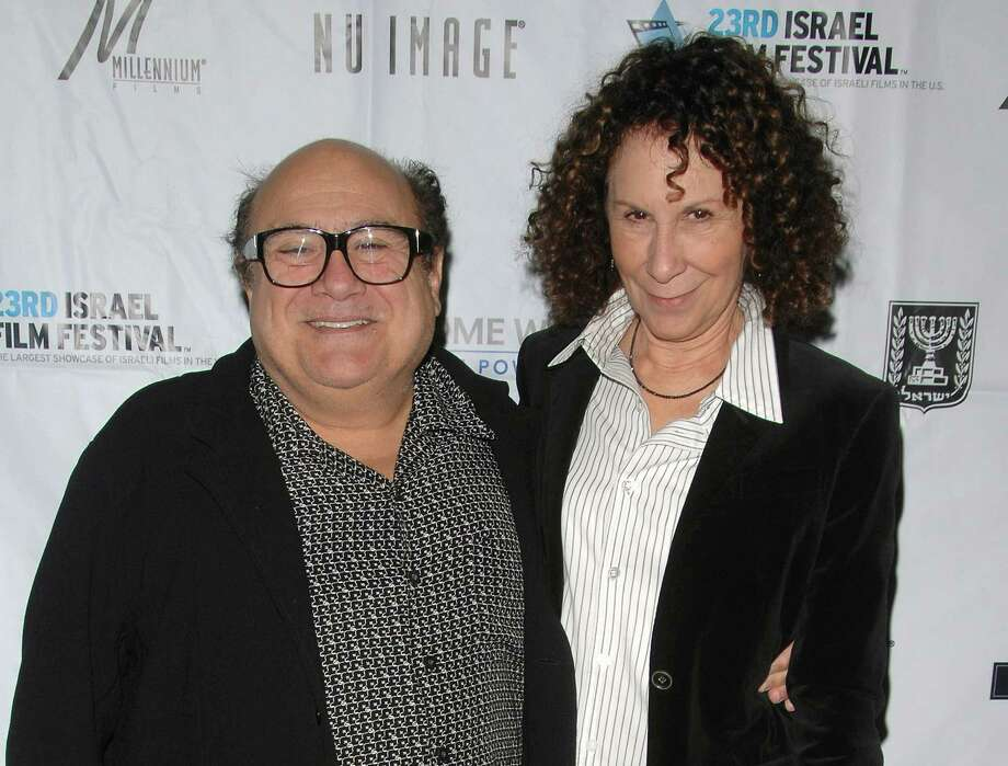 "Separated: Danny Devito and Rhea Perlman separated in October after 30 years of marriage. But divorce may not be on the horizon. When Extra asked if the couple planned to reconcile, Devito replied, ""We're working on it."" Photo: Peter Kramer / KRAPE"