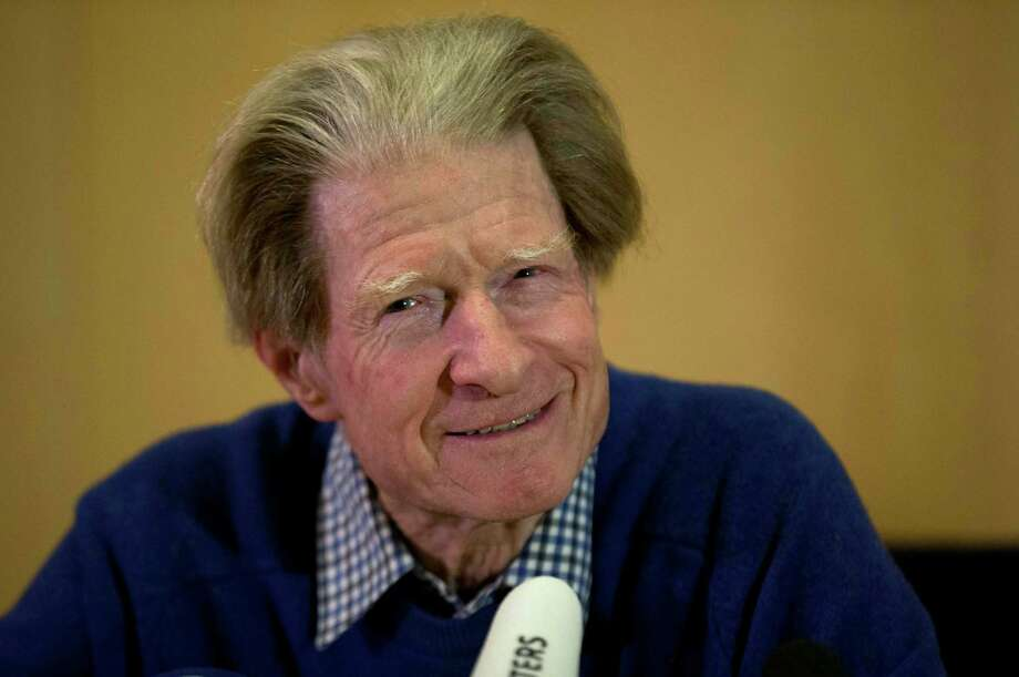 British scientist John Gurdon speaks during a news conference in London, Monday, Oct. 8, 2012.  Gurdon and a Japanese scientist, Shinya Yamanaka, won the Nobel Prize in physiology or medicine on Monday for discovering that ordinary cells of the body can be reprogrammed into stem cells, which then can turn into any kind of tissue ? a discovery that may led to new treatments.  (AP Photo/Matt Dunham) Photo: Matt Dunham / AP