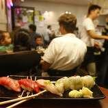Geta restaurant, a Japanese restaurant in Oakland.
