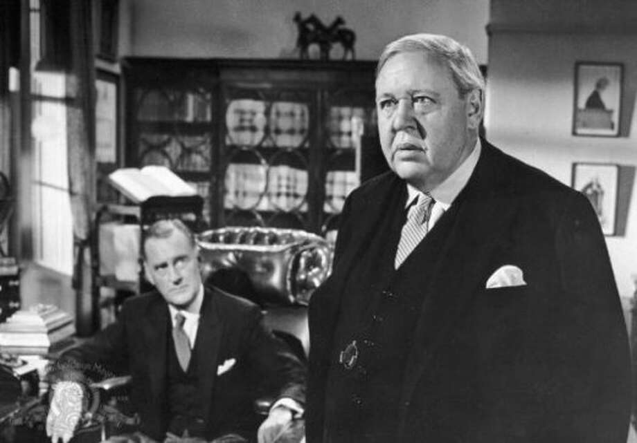 WITNESS FOR THE PROSECTION, directed by Billy Wilder and starring Charles Laughton.