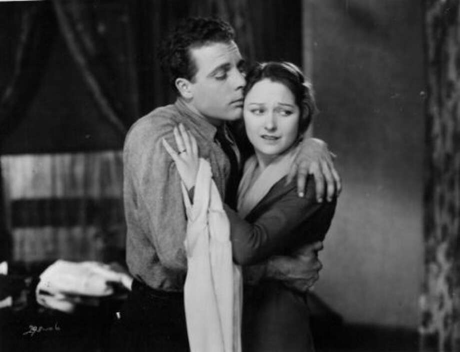 THE CROWD, a King Vidor film, with James Murray and Eleanor Boardman (1928).