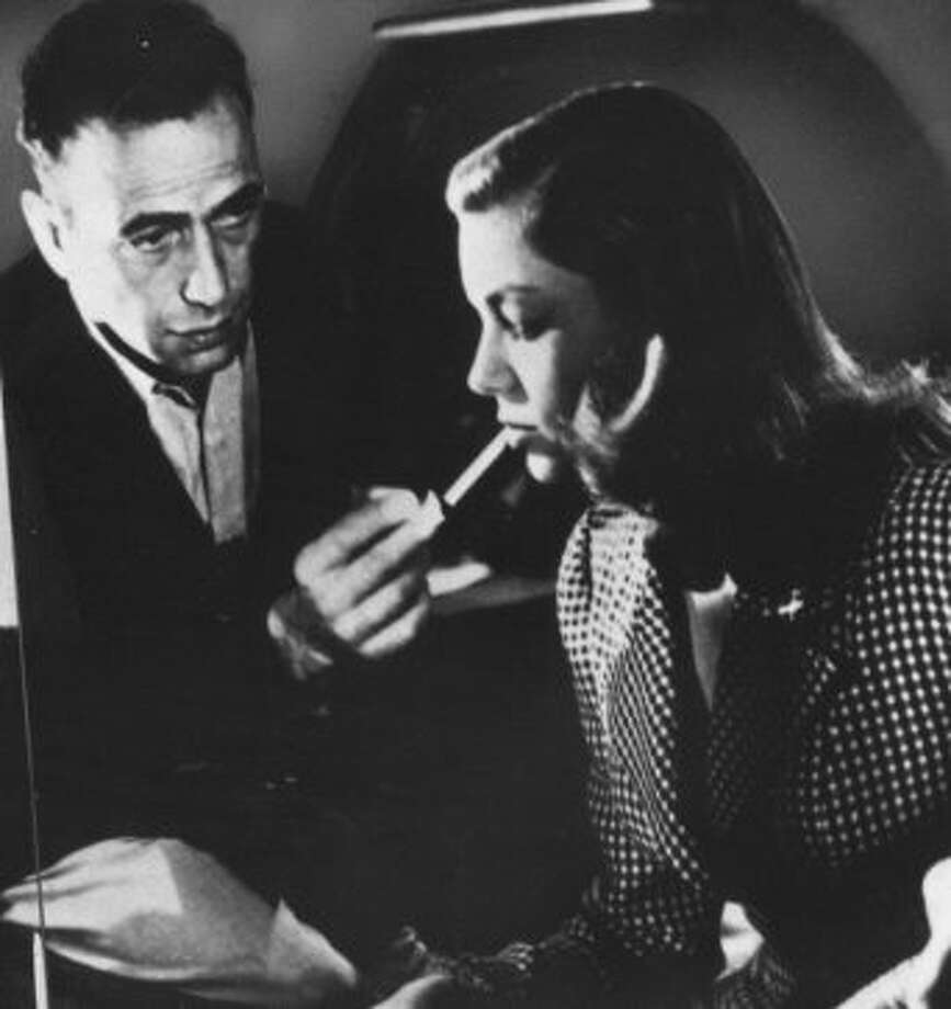 THE BIG SLEEP, with Bogart and Bacall. (bauhaus)