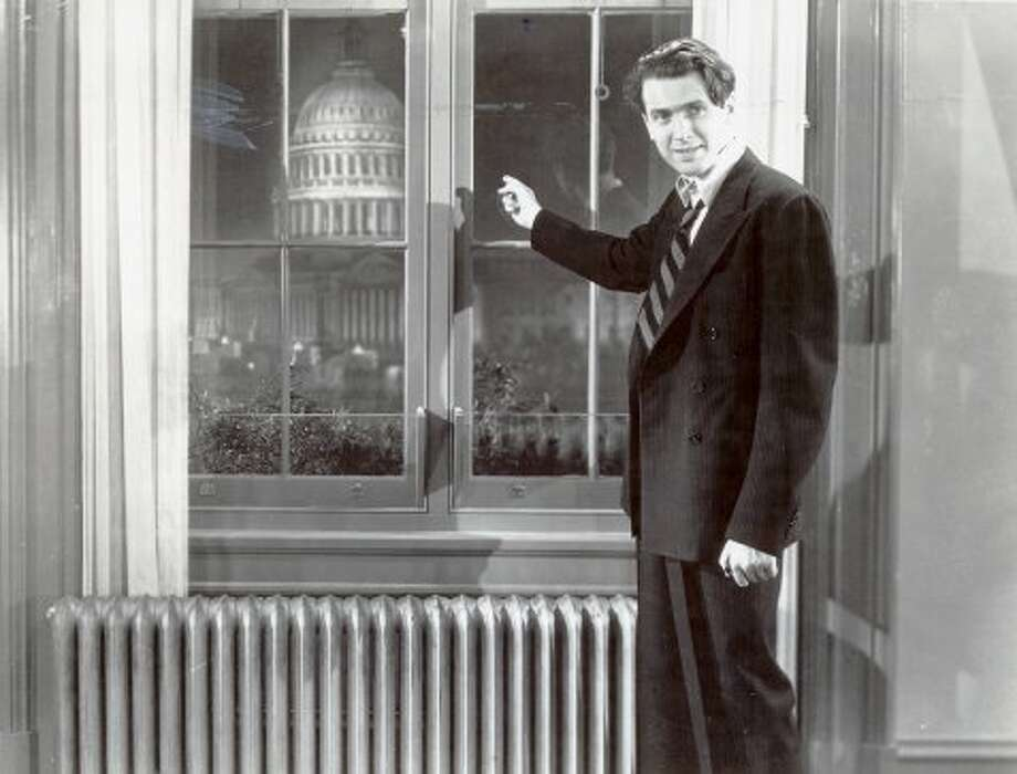 "James Stewart in ""Mr. Smith Goes to Washington"" (1939). (Photo Credit Columbia Pictures / Chronicle File)"
