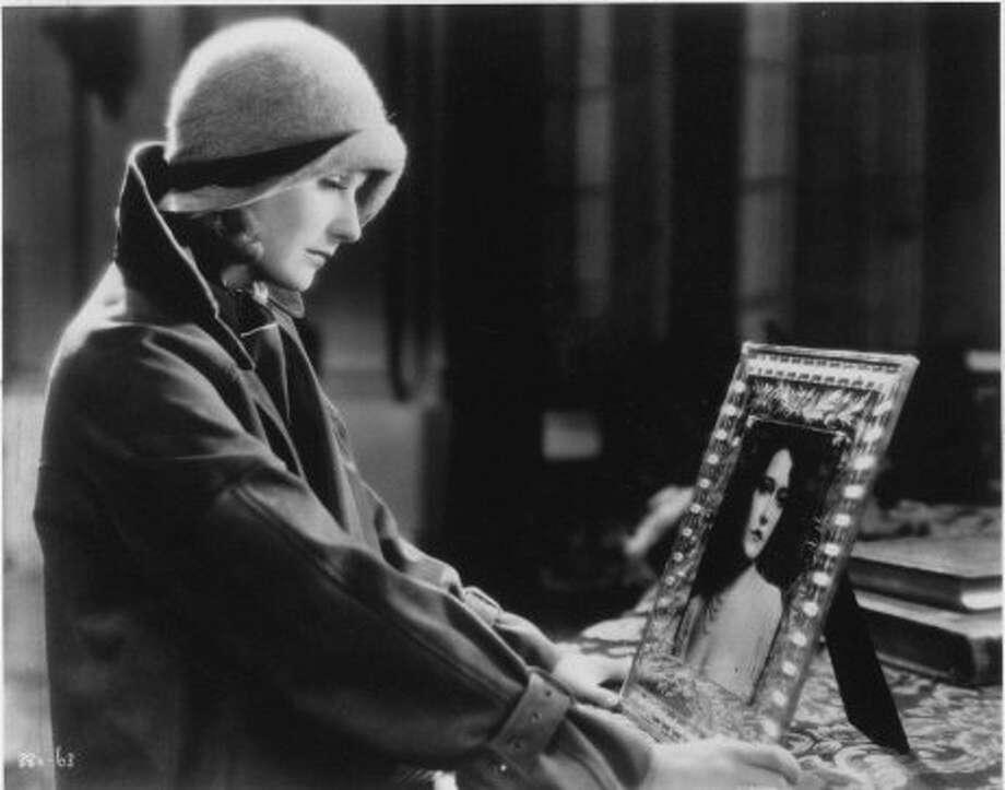 "Greta Garbo in ""A Woman of Affairs"" (1929). (Handout)"