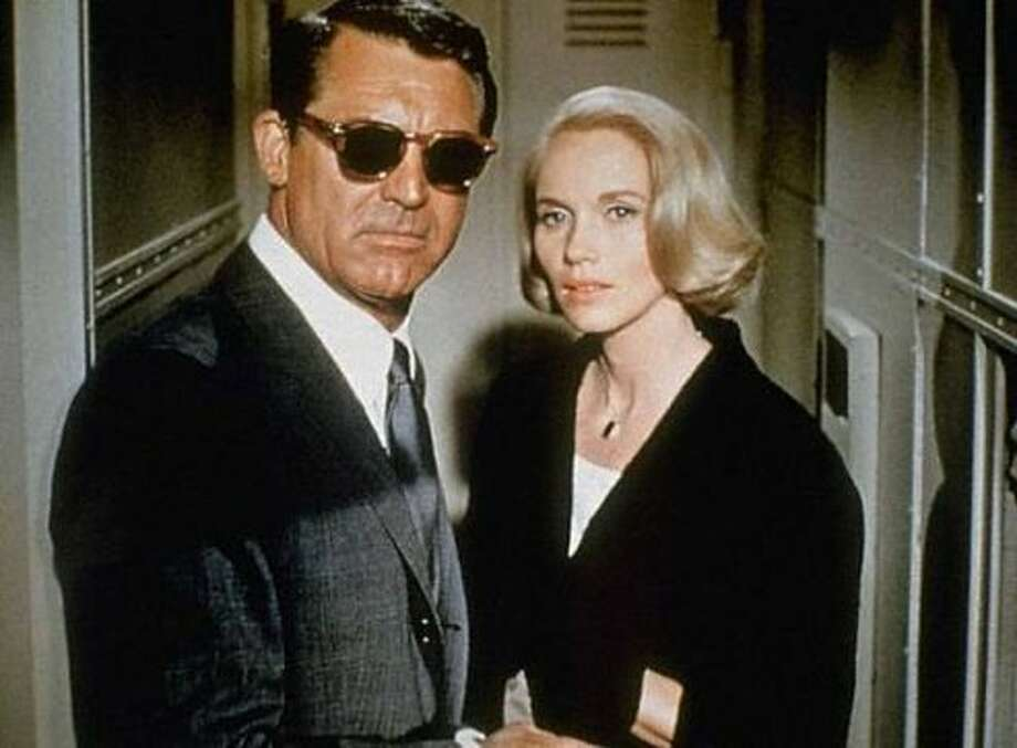 NORTH BY NORTHWEST (1959), with Cary Grant and Eva Marie Saint. (bauhaus)