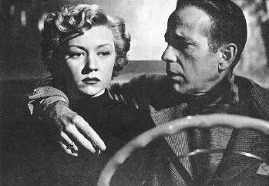 IN A LONELY PLACE, Gloria Grahame and Humphrey Bogart. Featuring a great Bogart performance.