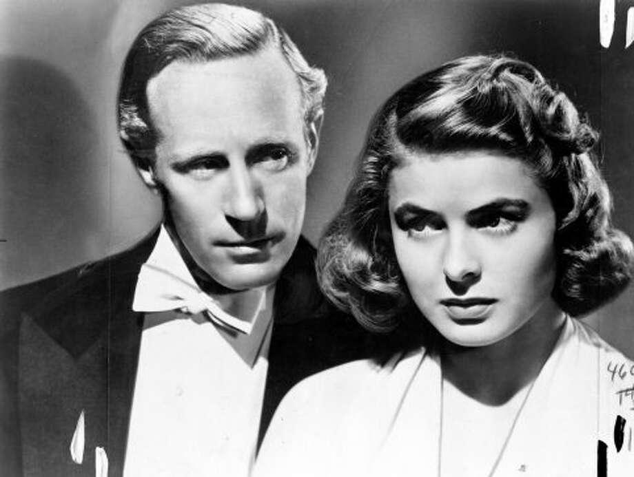 """Leslie Howard (left) and Ingrid Bergman in """"Intermezzo."""" (HANDOUT)"""