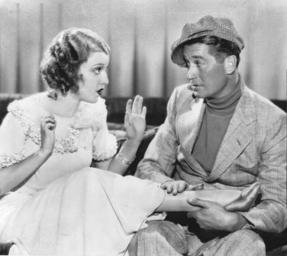 "Jeanette MacDonald and Maurice Chevalier in ""Love Me Tonight"" 1932. (HANDOUT)"