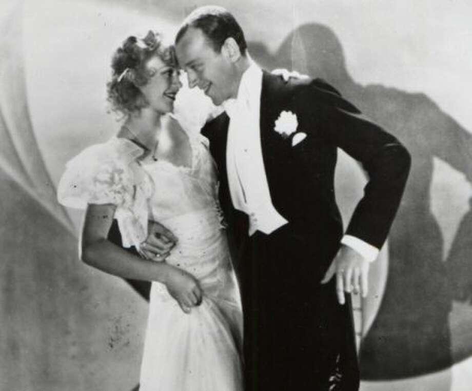TOP HAT, starring Fred Astaire and Ginger Rogers (above). (JTYLER)