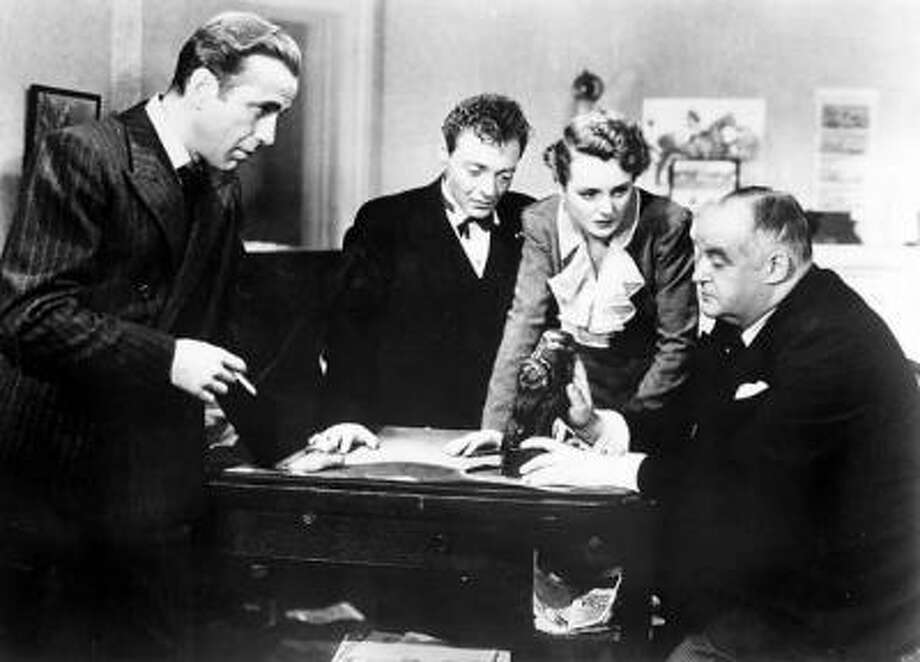 THE MALTESE FALCON, with Humphrey Bogart, directed by John Huston (rwf1945)