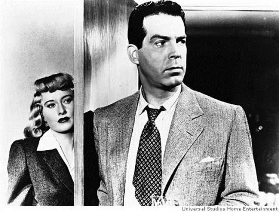 DOUBLE INDEMNITY, early noir with Barbara Stanwyck and Fred MacMurray. (tstrub)