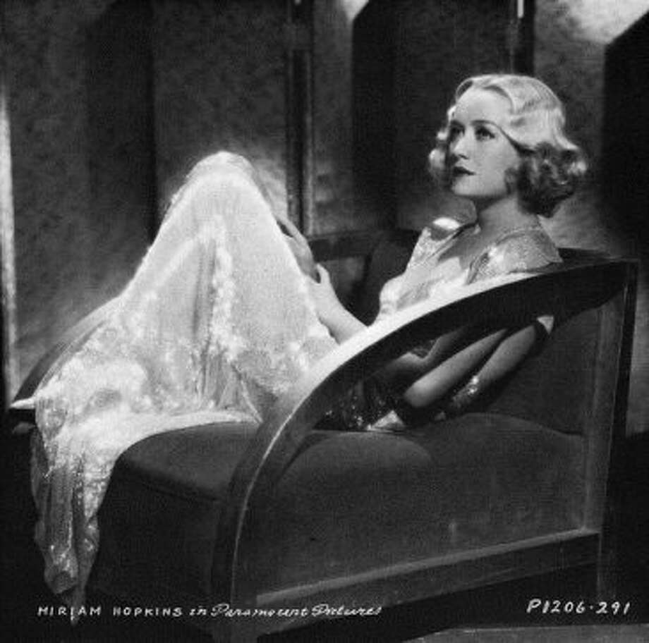 Miriam Hopkins in DESIGN FOR LIVING. One of the most pre-Code of the pre-Codes, suggested by jtyler)