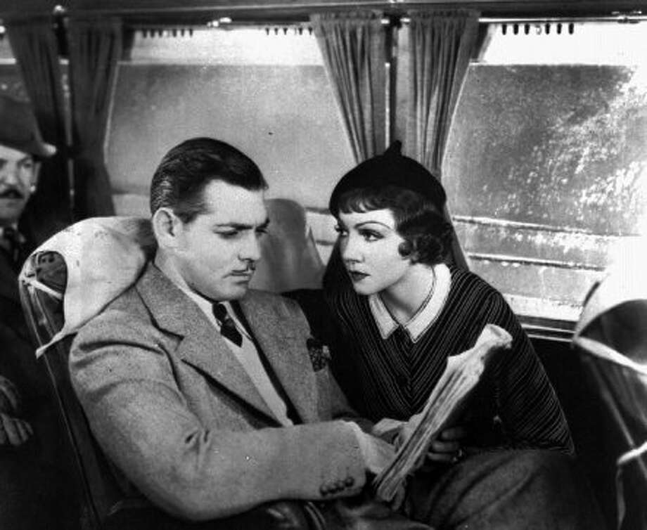 """It Happened One Night,"" with Clark Gable and Claudette Colbert. (AP Photo/file) (ASSOCIATED PRESS)"