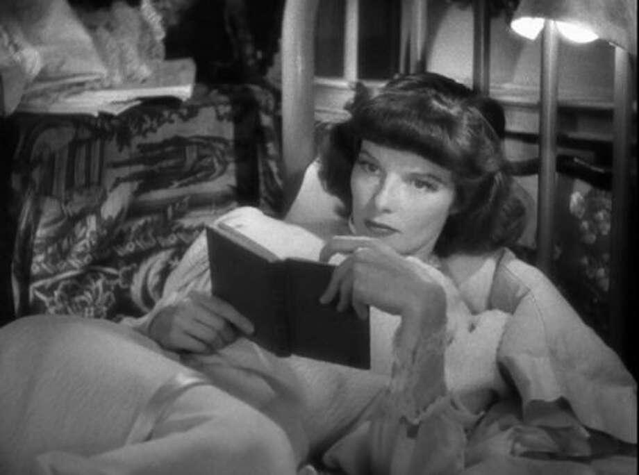 Katharine Hepburn in STAGE DOOR.