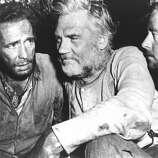 TREASURE OF THE SIERRA MADRE, with Bogart and Walter Huston, directed by John Huston. (arobson) (Archive Photos)