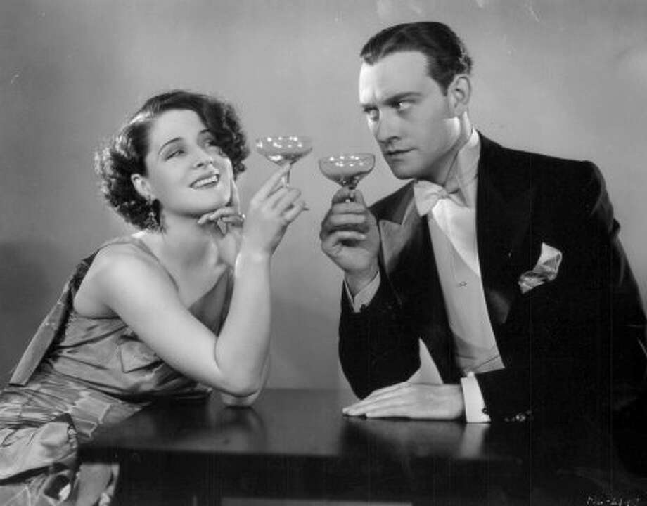 "Norma Shearer and Conrad Nagel in ""The Divorcee"" 1930.  The pre-Code that began the cycle of sophistication. (Courtesy / MGM 1930)"