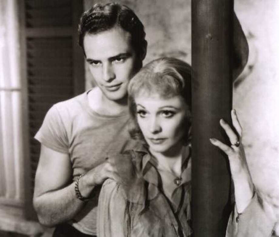 "Marlon Brando and Vivien Leigh in ""A Streetcar Named Desire."" (maria p) (Warner Bros. 1951 / ONLINE_YES)"