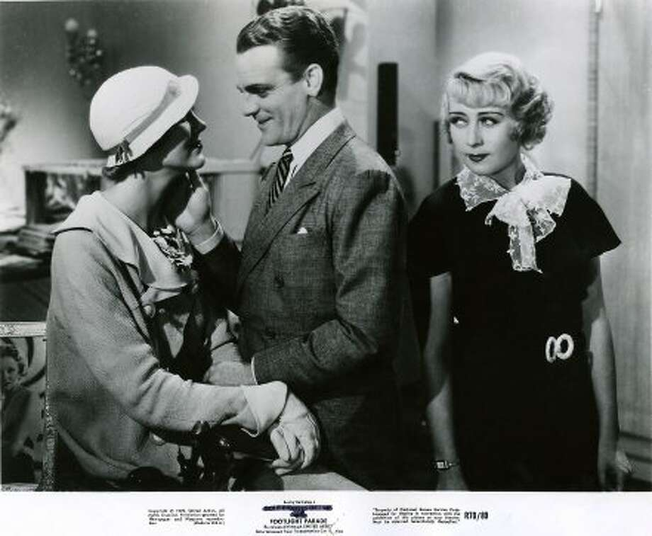 FOOTLIGHT PARADE (1933), directed by Lloyd Bacon, with Claire Dodd,  James Cagney, and Joan Blondell.   (Warner Bros.)