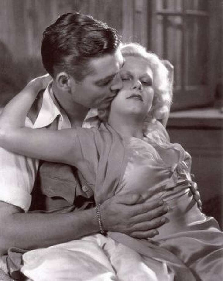 "Clark Gable and Jean Harlow in ""Red Dust."" (MGM 1932)"