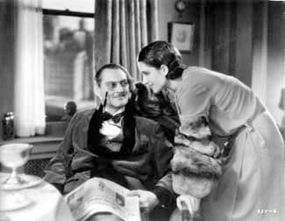 A Free Soul 1931 Lionel Barrymore Norma Shearer (jtyler) Photo: MGM