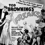 FREAKS (amarantha 13) -- once considered something horrible, now a classic.