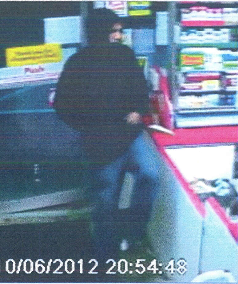 Suspect in Shell station robbery Photo: Shelton Police