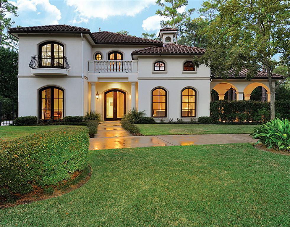 Charming Spanish Mediterranean Style Home For Sale In Houston