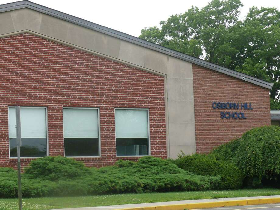 A portable classroom that will serve as a temporary gym for Osborn Hill is under construction in Middletown and should be ready to use by Oct. 22. Photo: File Photo / Fairfield Citizen