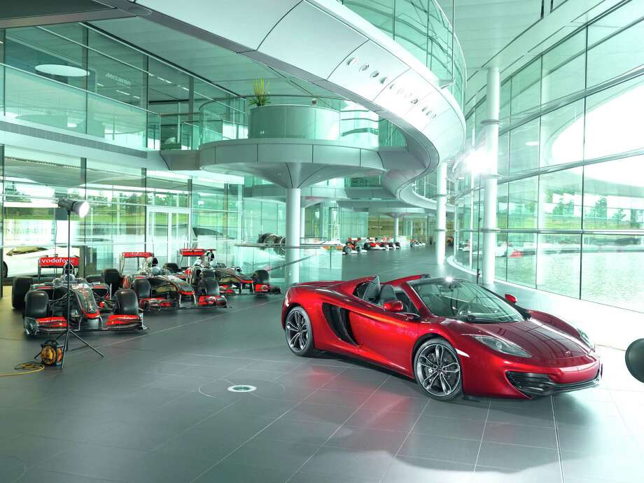 On Oct. 9, 2012, Neiman Marcus released the 86th edition of its legendary Christmas Book. The 2013 Neiman Marcus Edition McLaren 12c Spider.  The Drive Of A Lifetime.  One of just 12 made, it is heralded as the most technologically advanced supercar ever.(PRNewsFoto/The Neiman Marcus Group) Photo: PR NEWSWIRE / THE NEIMAN MARCUS GROUP