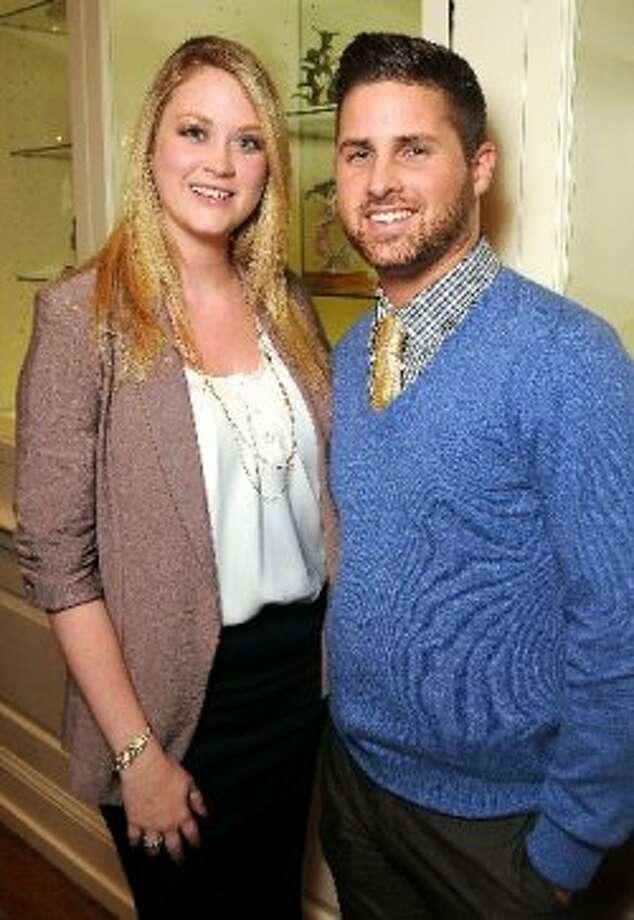 Amanda Allen and Kyle Santolini (Dave Rossman )