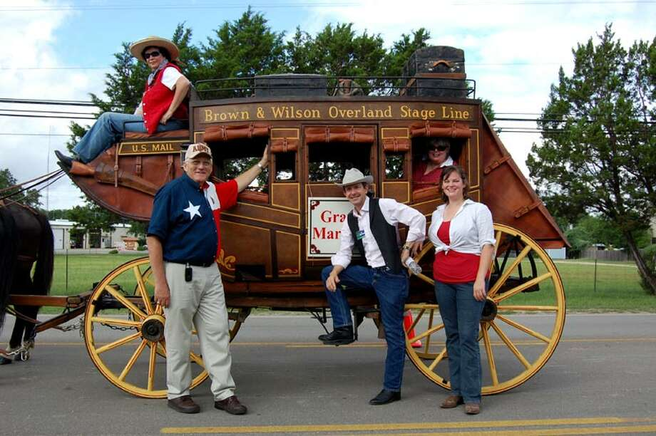 A stagecoach from Hays County will be part of the festivities Oct. 19-20 in Leon Valley as the city celebrates its anniversary and the Huebner-Onion Homestead and Stagecoach Stop celebrates its sesquicentennial (150 years). Photo: Courtesy Photo