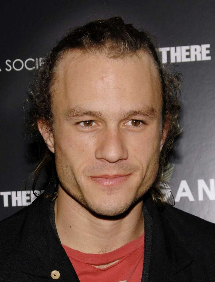 The late actor Heath Ledger, whose most notable roles were in 2005's 'Brokeback Mountain' and 2008's 'The Dark Knight.' Photo: Evan Agostini, AP / AGOEV