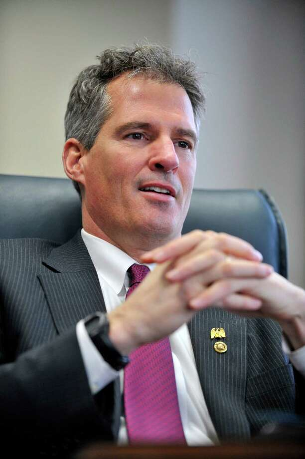 Scott Brown once posed nude for Cosmo. (Josh Reynolds / Associated Press) Photo: Josh Reynolds, Associated Press / FR25426 AP